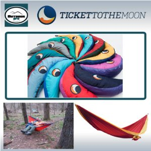 Ticket To The Moon Double Hammock various colour