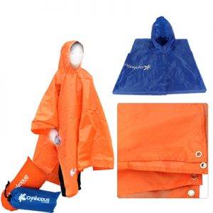 Chanodug ODP 0004 3-in-1 Poncho orange