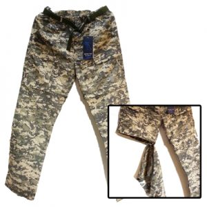 ODP 0032 Quick Dry Pants L desert camouflage