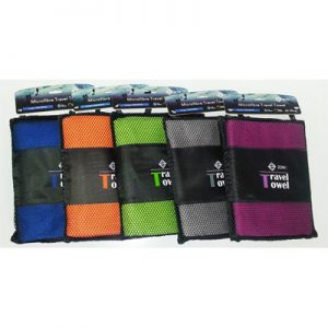 Zone Microfibre Travel Towel Large various colour