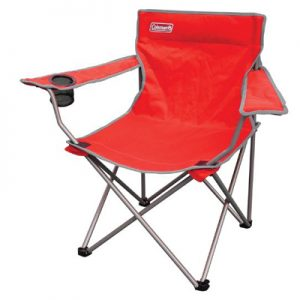 Coleman GO! Quad Armchair red