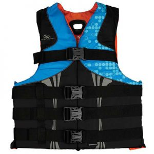 Stearns PFD 5974 Mens Infinity Series 2XL 3XL abstract wave
