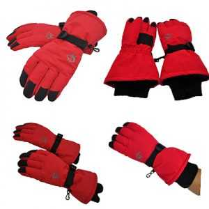 Hasky ODP 0282 Waterproof Gloves XL red