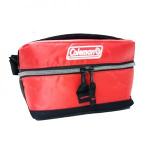 Coleman Collapsible Soft Cooler 2L red