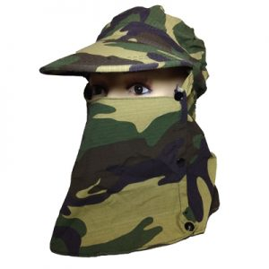 ODP 0313 Sun Protection Cap camouflage