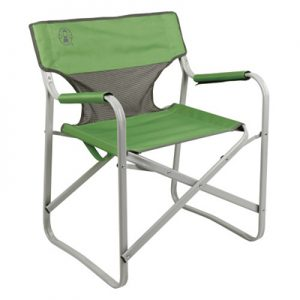 Coleman Steel Deck Chair green
