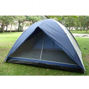 Bazoongi 1503 CII 6 Persons Silver Dome Tent
