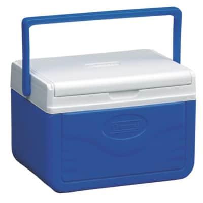 Coleman 5QT FlipLid Personal Cooler blue